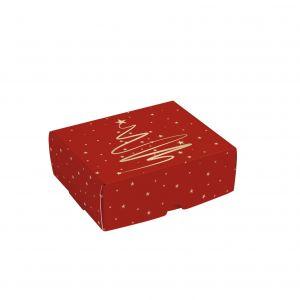Caixa para 4 Brigadeiros Magia de Natal Cromus PCT/10un