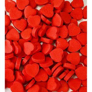 Confeito de Açúcar 263 Mini Coração Vermelho Jady Confeitos