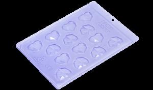Forma Acetato 451 Aplique Coração Diamond Porto Formas