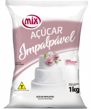 AÇUCAR IMPALPAVEL MIX 1KG