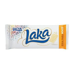 Chocolate Laka Branco Lacta 90gr