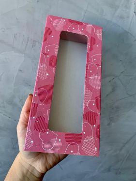 Caixa Luva 10 Doces Com Visor Love Max Paper 6 Unidades