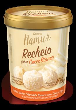 Recheio Cocco Bianco Selecta Namur 1,01kg