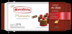 Cobertura Premium Barra Ao Leite Mavalério 1,01kg