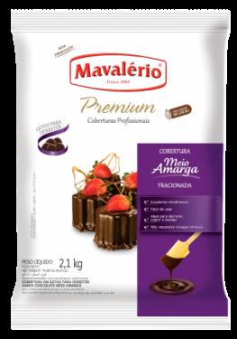 Cobertura Premium Gotas Meio Amargo Mavalério 1,01kg