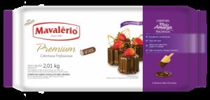 Cobertura Premium Barra Meio Amargo Mavalério 1,01kg