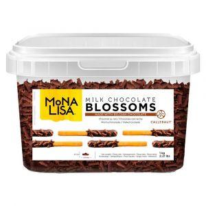 Chocolate Ao Leite Blossoms Mona Lisa Callebaut 1kg