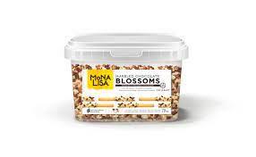 Chocolate Amargo e Branco Blossoms Mona Lisa Callebaut 1kg