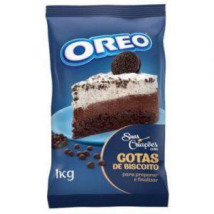 Biscoito Oreo em Gotas Lacta 1kg