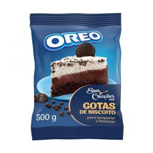 Biscoito Oreo em Gotas Lacta 500gr