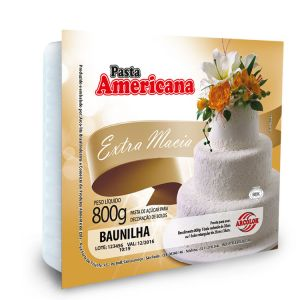 Pasta Americana Baunilha Arcolor 800gr