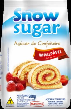 Açúcar de Confeiteiro Snow Sugar 500gr