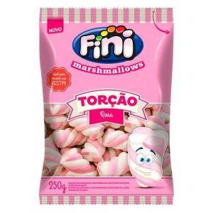 Marshmallow Torção Rosa Fini 250gr